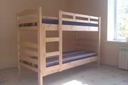 Кровать двухъярусная с матрасами,  новая,  в упаковке