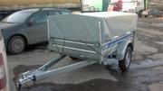 Прицеп для легкового автомобиля TikiTreiler С-200 L с тентом.