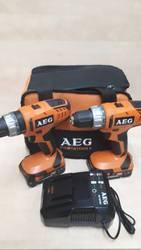 Продам набор шуруповёртов(2шт)AEG JP2B18LI-152B. 18 v,  Новый.Германия.