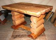 Продам новый стол из  бревна