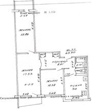 Продается 3-х комнатную квартиру в г. Полоцк