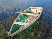 Продам металлическую лодку