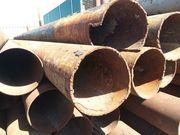 Продам трубу б/у 325х8,  377х8 длина трубы 11 метров